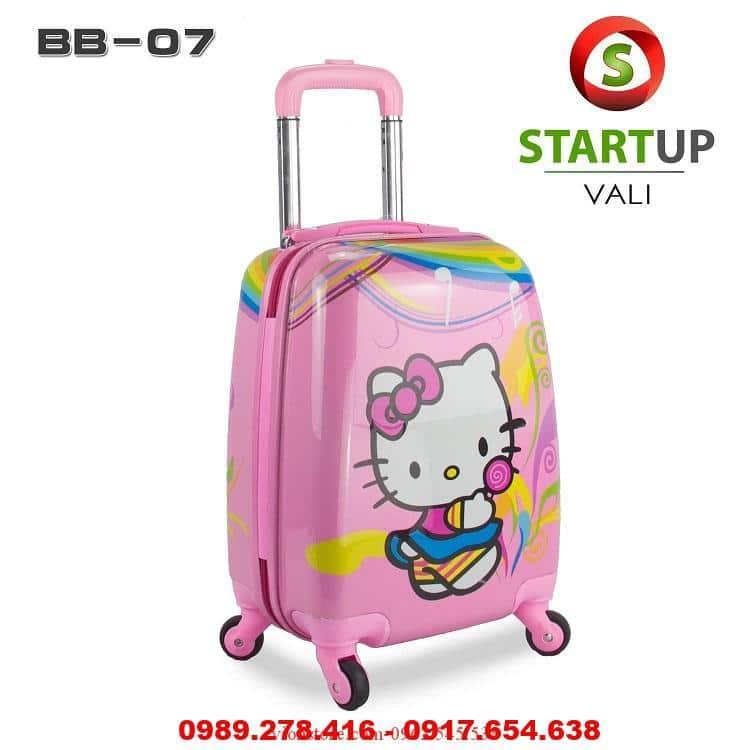 vali kéo hello kitty ở hà nội