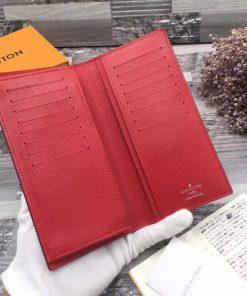 ví cầm tay nam màu đỏ VDD43