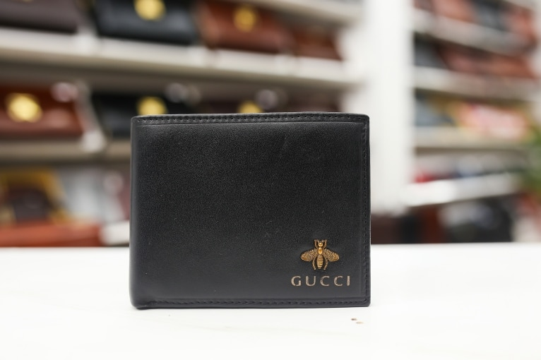 Ví nam Gucci da thật kiểu ngang
